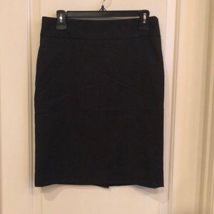 Black Anne Klein pencil skirt